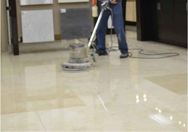 Nettoyage de marbre